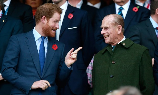 Hoang tu Harry len ke hoach tro lai Anh du dam tang Than vuong Philip hinh anh 1