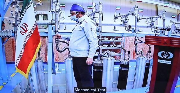 Iran thong bao bat dau lam giau urani o muc nguy hiem 60% hinh anh 1