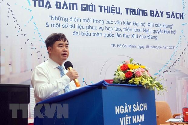 Gioi thieu sach, tai lieu phuc vu hoc tap Nghi quyet Dai hoi Dang XIII hinh anh 1