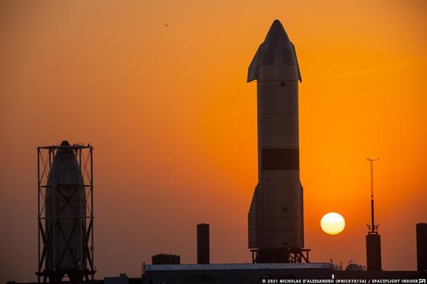 SpaceX thu nghiem ha canh thanh cong tau vu tru con thoi Starship hinh anh 1