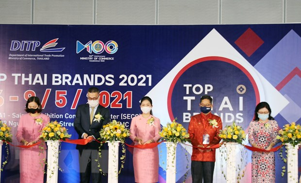Khai mac trien lam Thuong hieu hang dau Thai Lan nam 2021 hinh anh 1