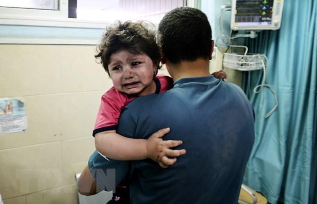 UNICEF keu goi bao ve tre em trong xung dot bao luc Irael va Palestine hinh anh 1