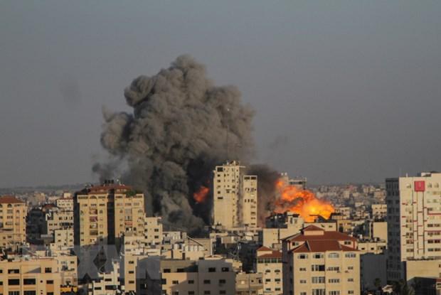 Israel danh sap ngan hang Hamas, tuyen bo khong dung khong kich Gaza hinh anh 1