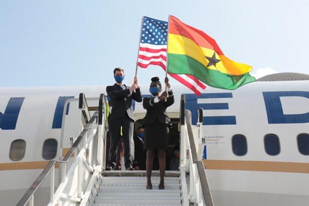 Hang khong My mo lai chuyen bay den Ghana sau mot thap ky gian doan hinh anh 1