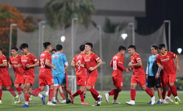 Vong loai World Cup: Viet Nam san sang cho tran giao huu voi Jordan hinh anh 1