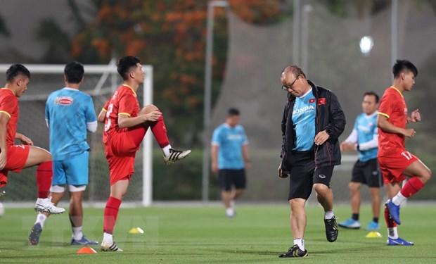 Vong loai World Cup: Viet Nam san sang cho tran giao huu voi Jordan hinh anh 2