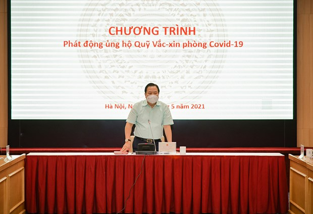 Cac tap doan, tong cong ty ung ho 2.360 ty dong cho Quy vaccine hinh anh 1