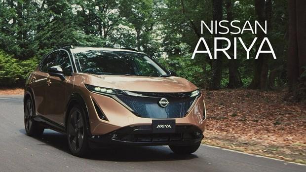 Nissan hoan dua ra thi truong mau oto dien Ariya do thieu chip hinh anh 1