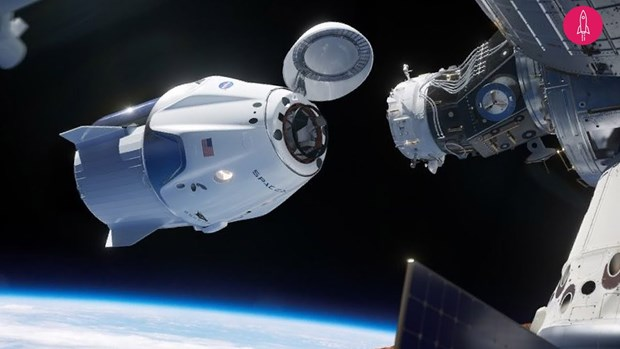 Tau SpaceX Dragon lap ghep thanh cong voi Tram vu tru quoc te hinh anh 1