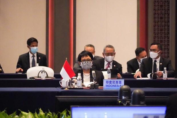 Indonesia keu goi ASEAN va Trung Quoc noi lai thao luan ve COC hinh anh 1