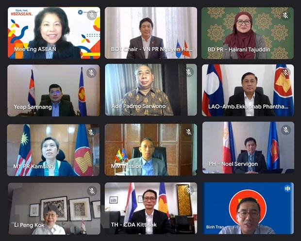 Viet Nam chu tri cuoc hop truc tuyen Hoi dong Uy thac Quy ASEAN hinh anh 1