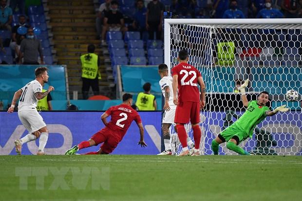 EURO 2020: 5 dau an cua Italy trong tran thang 3-0 truoc Tho Nhi Ky hinh anh 1