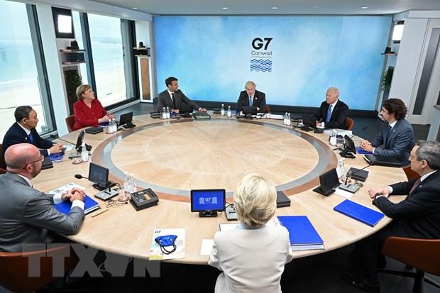 Lanh dao G7 nhat tri tiep tuc ho tro qua cac goi kich thich tai chinh hinh anh 1