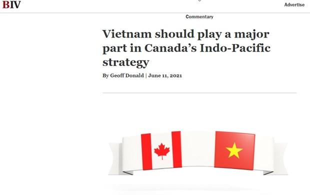 Gioi doanh nghiep Canada nhan manh tiem nang hop tac voi Viet Nam hinh anh 1