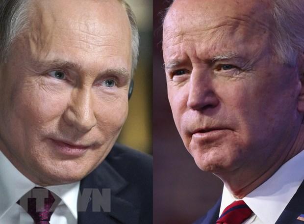 Tong thong Nga Putin da den Geneva de gap Tong thong My Biden hinh anh 1