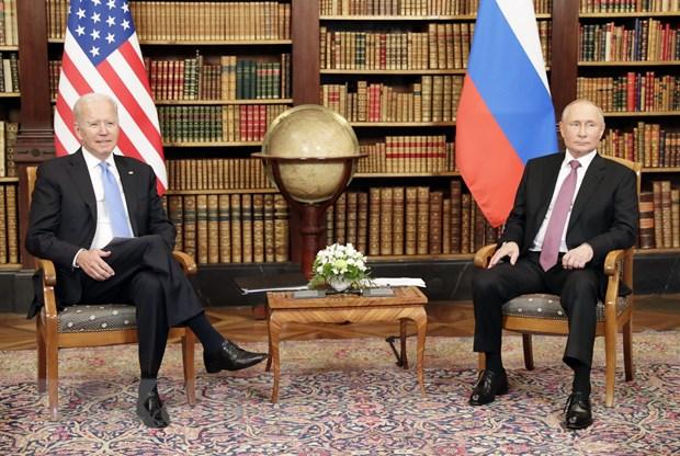 Tong thong Putin-Biden bat dau hoi nghi thuong dinh tai Thuy Si hinh anh 1
