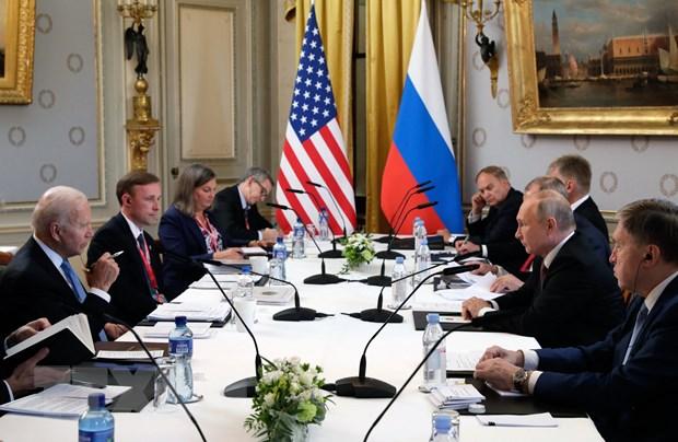 Ong Putin: Hoi nghi thuong dinh Nga-My dien ra tren tinh than xay dung hinh anh 1