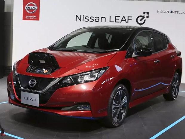 Nissan dau tu 1,4 ty USD xay dung nha may san xuat pin xe dien tai Anh hinh anh 1
