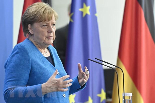 Ba Merkel cam ket ho tro nguoi Afghanistan tung lam cho quan doi Duc hinh anh 1