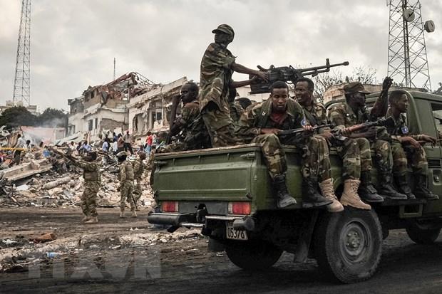 Quan doi Somalia bat giu mot thu linh cap cao cua al-Shabab hinh anh 1