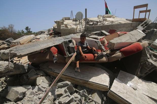 Hamas canh bao lenh phong toa cua Israel lam gia tang cang thang hinh anh 1