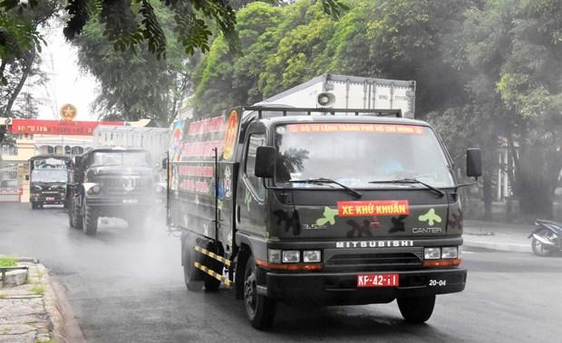 TP Ho Chi Minh giua nhung ngay gian cach: Tinh than quyet tam cao do hinh anh 3