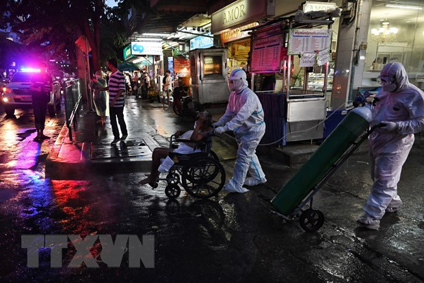 Dich COVID-19: Thai Lan gia han bien phap han che den cuoi thang 8 hinh anh 1