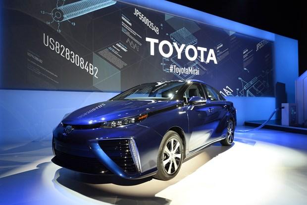 Toyota cung co vi the hang xe ban chay hang dau the gioi hinh anh 1