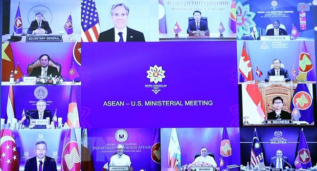 Bo Ngoai giao My tai khang dinh cam ket voi khu vuc ASEAN hinh anh 1