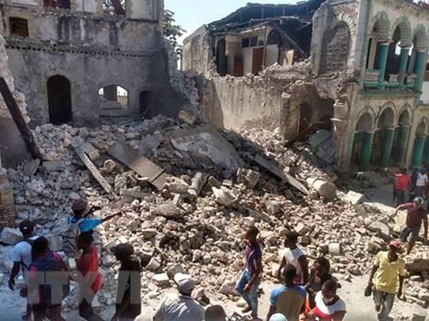 Dong dat manh 7,4 tai Haiti: Khong co nguoi Viet thuong vong hinh anh 1