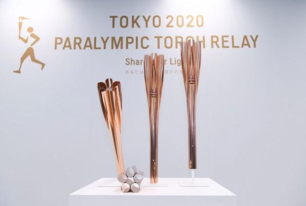 Su kien thap duoc Paralympic Tokyo duoc to chuc tren khap nuoc Nhat hinh anh 1