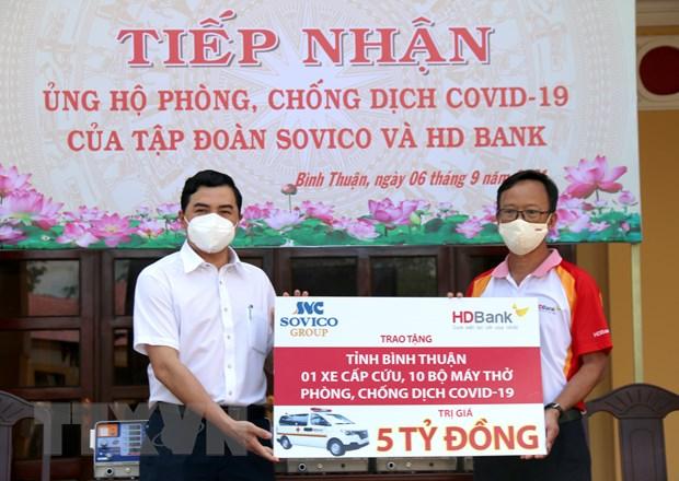 Binh Thuan, Lam Dong huy dong cac nguon luc de phong, chong dich hinh anh 1