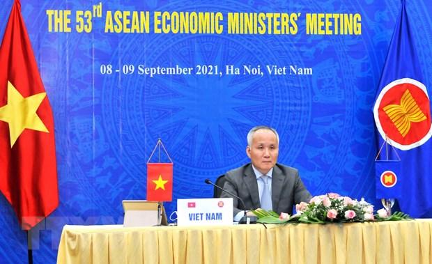 Hoi nghi AEM 53 thong qua Lo trinh chuyen doi ky thuat so ASEAN hinh anh 1