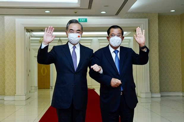 Campuchia va Trung Quoc nhat tri tang cuong hop tac, thuc day quan he hinh anh 1