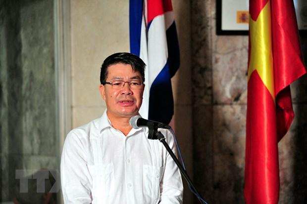 Chuyen tham cua Chu tich nuoc tiep noi quan he doan ket Viet Nam-Cuba hinh anh 2