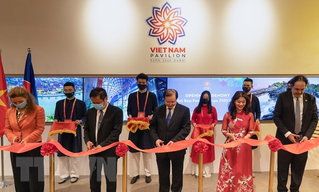 An tuong Nha trien lam Viet Nam tai EXPO 2020 Dubai o UAE hinh anh 1