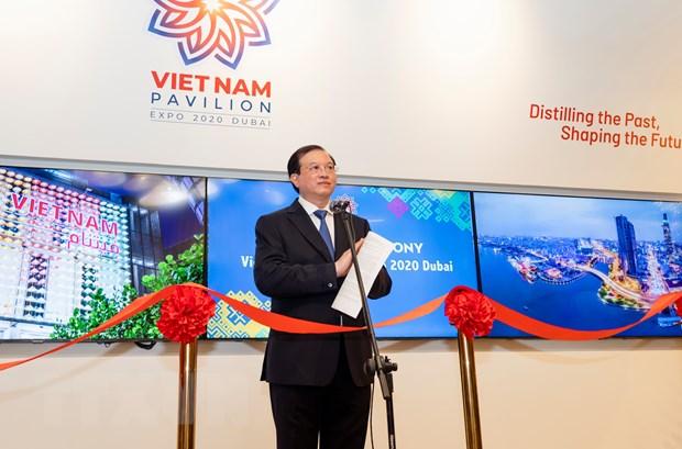An tuong Nha trien lam Viet Nam tai EXPO 2020 Dubai o UAE hinh anh 2