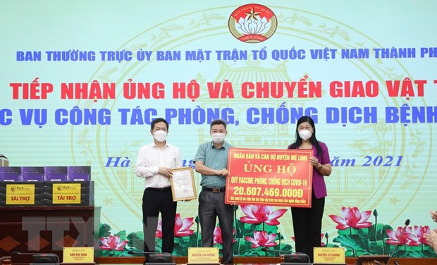 Den 6/10, Quy vaccine phong COVID-19 nhan duoc hon 8.780 ty dong hinh anh 1