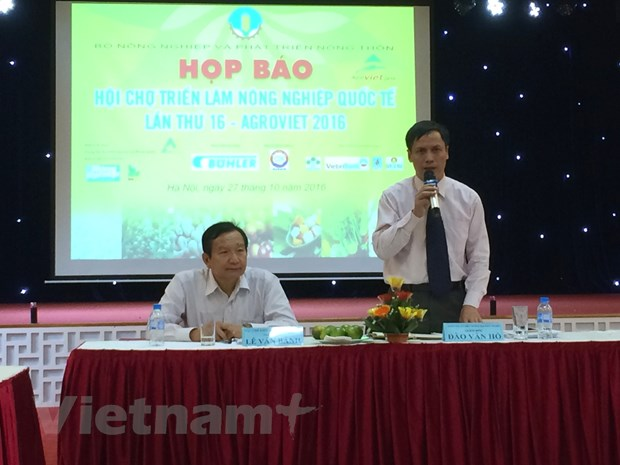 Hoi cho AgroViet 2016 thu hut khoang 300 doanh nghiep tham gia hinh anh 2