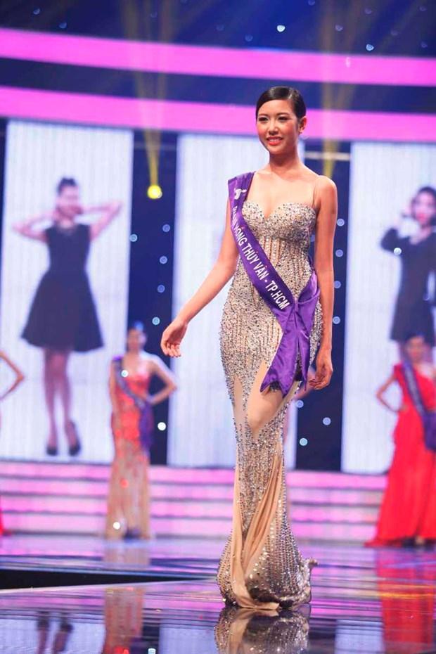 An tuong liveshow mo man cua top 18 Hoa khoi Ao dai Viet Nam hinh anh 5
