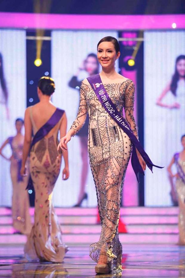 An tuong liveshow mo man cua top 18 Hoa khoi Ao dai Viet Nam hinh anh 6
