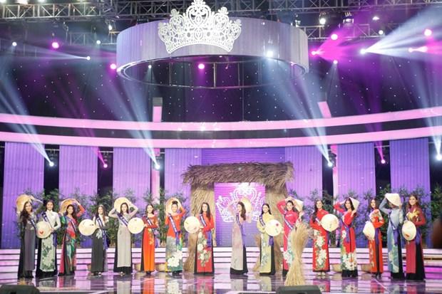 Liveshow 5 Hoa khoi Ao dai Viet Nam: Que Chi ngam ngui dung buoc hinh anh 1