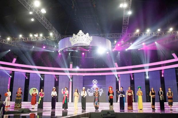 Liveshow 5 Hoa khoi Ao dai Viet Nam: Que Chi ngam ngui dung buoc hinh anh 2