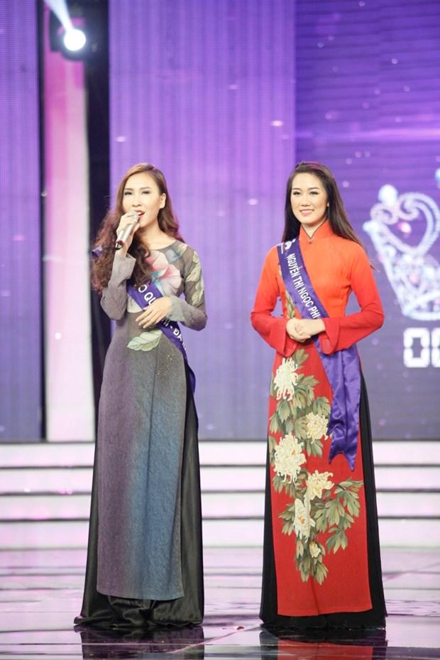 Liveshow 5 Hoa khoi Ao dai Viet Nam: Que Chi ngam ngui dung buoc hinh anh 26