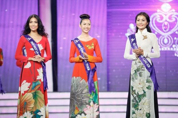 Liveshow 5 Hoa khoi Ao dai Viet Nam: Que Chi ngam ngui dung buoc hinh anh 27