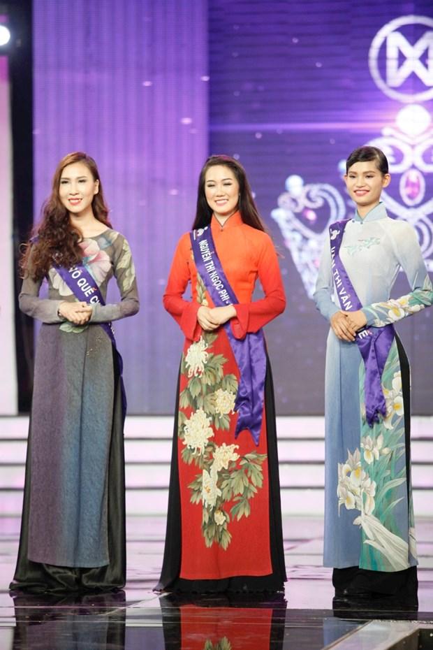 Liveshow 5 Hoa khoi Ao dai Viet Nam: Que Chi ngam ngui dung buoc hinh anh 28