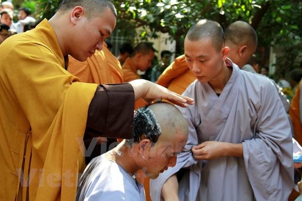 "Hoi trai tap huan Thanh nien Phat tu: ""Con duong sang"" cho gioi tre hinh anh 3"