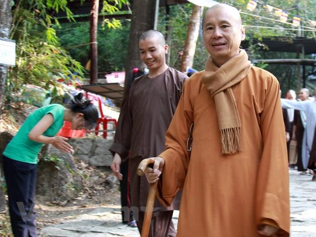 "Hoi trai tap huan Thanh nien Phat tu: ""Con duong sang"" cho gioi tre hinh anh 2"