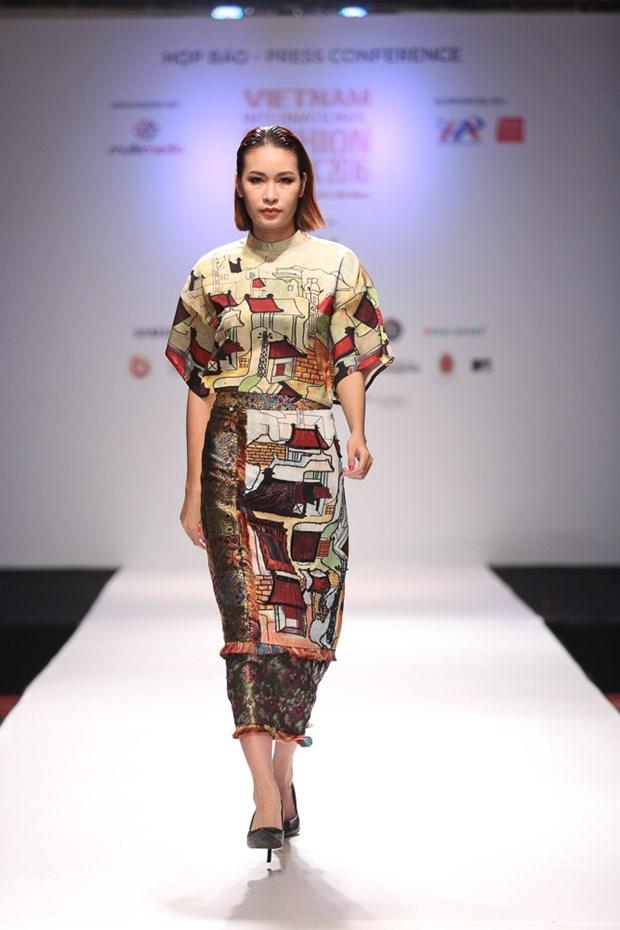 Se co hon 20 show dien an tuong tai Vietnam International Fashion Week hinh anh 2