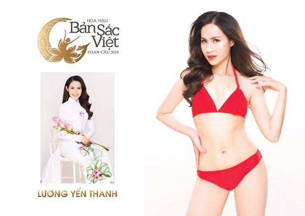 Nhung ung vien noi bat dau tien cua Hoa hau Ban sac Viet toan cau hinh anh 1